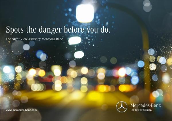 Mercedes Night View Child
