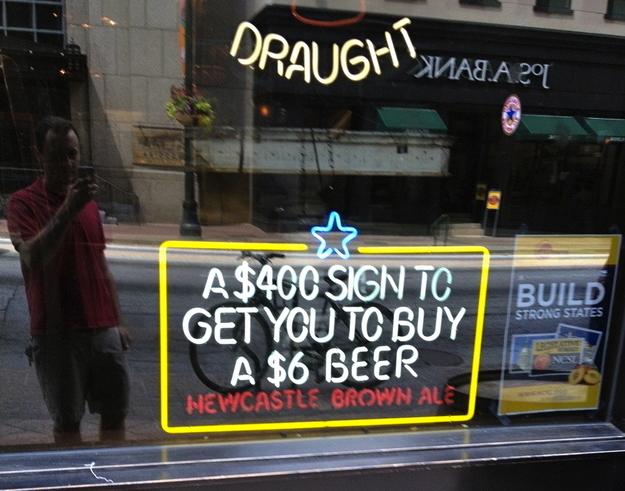 Beer ROI