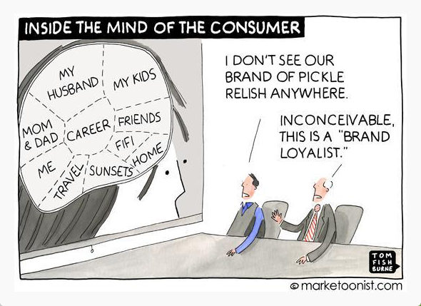 Consumers' brains